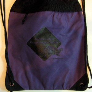 purple cinch bag